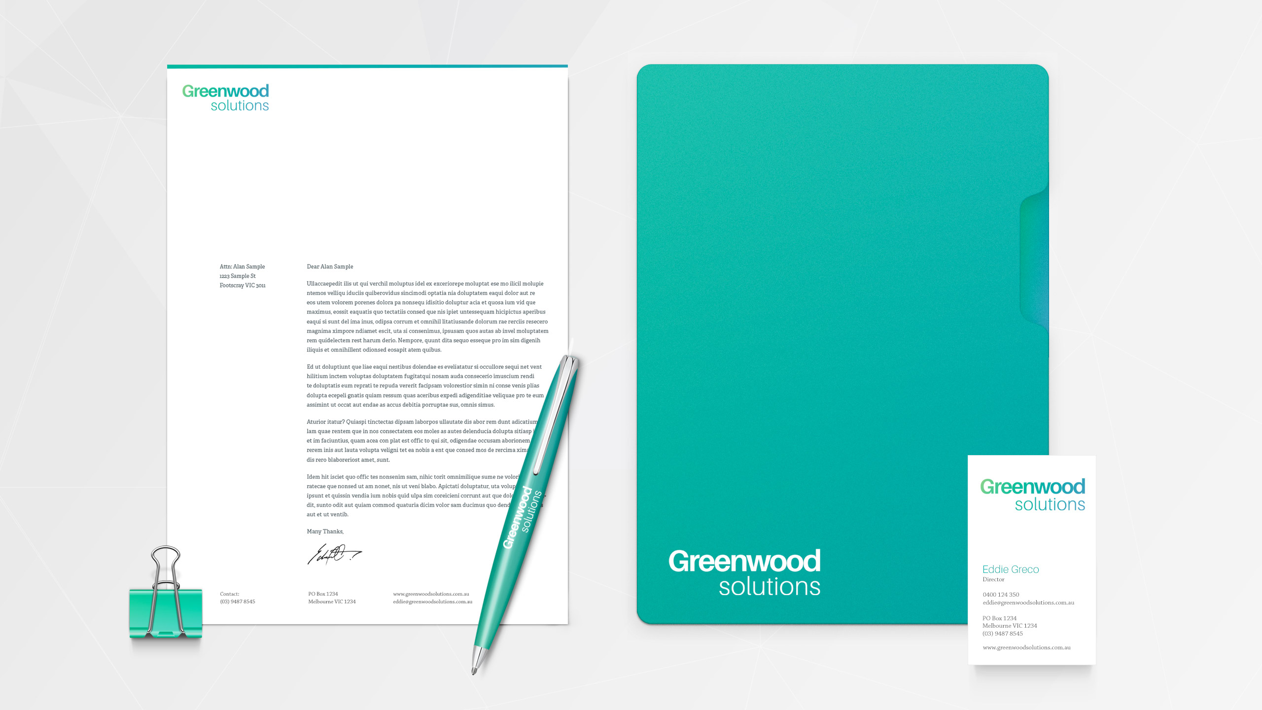 Greenwood Solutions Branding