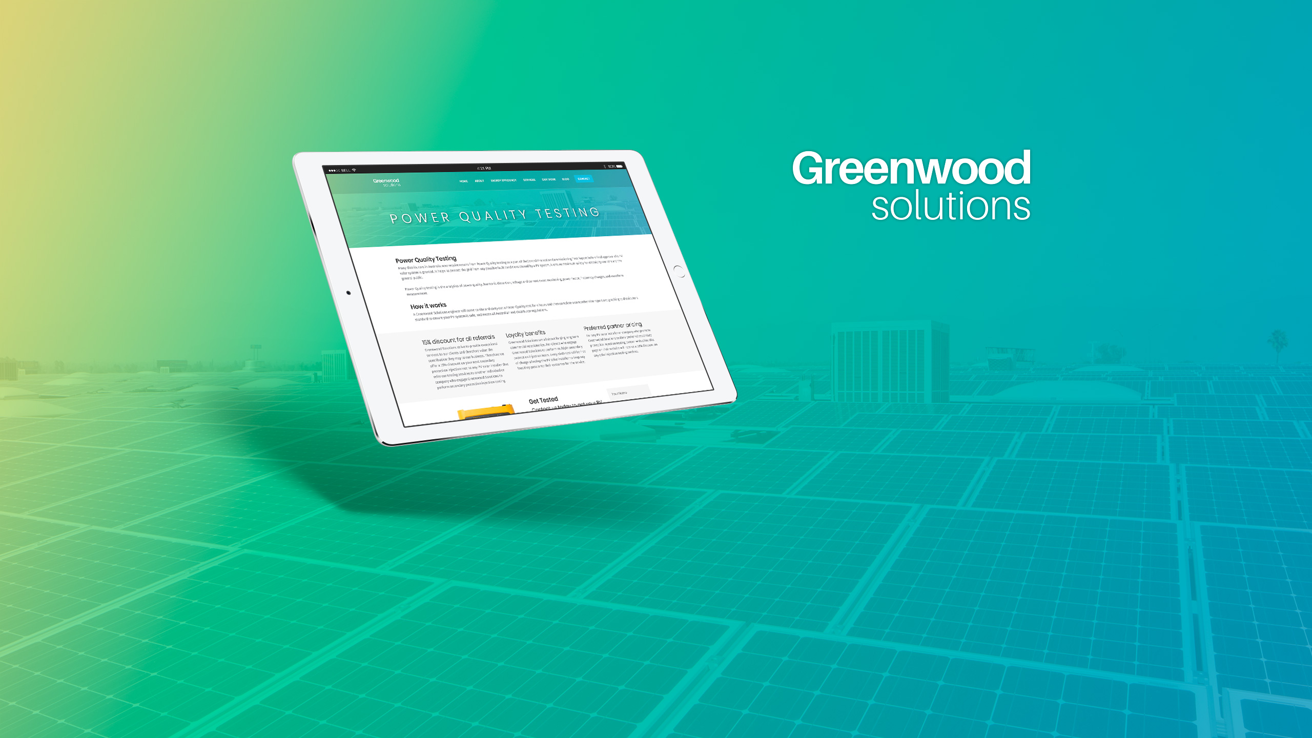 Greenwood Solutions Cover